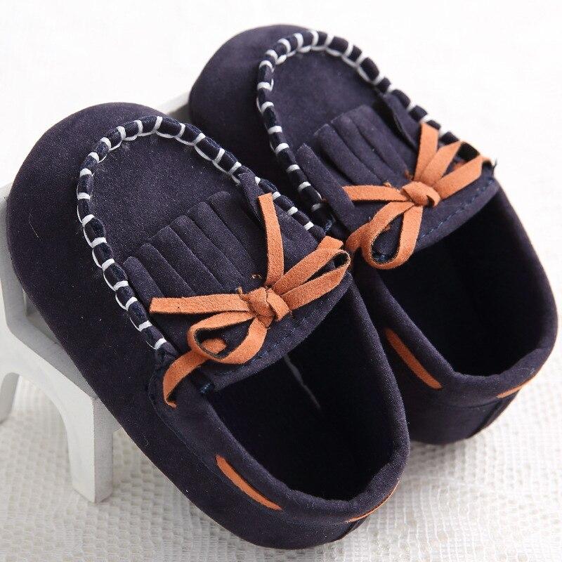Bebé zapatos de Los Muchachos Zapatos Mocasines Mocasines de Cuero de la Pu Frin