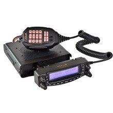 HYS TC-MAUV11 de Coche walkie talkie 136-174 Mhz y 400-480 Mhz repetidor de Doble banda de radio móvil con 128 canales