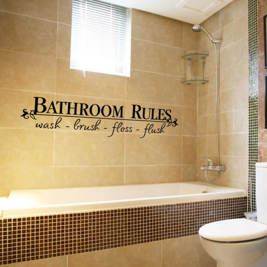 KAKUDER Removable DIY Wall Sticker Mural Home Decal Decor For Bathroom May29 Drop Shipping