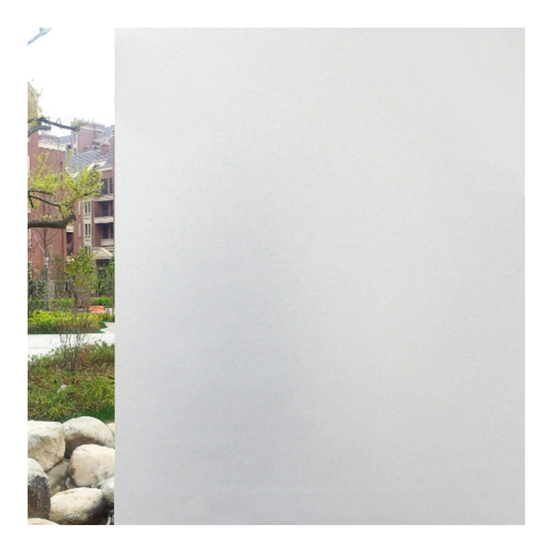 45X200 Frosted Glass Stickers Transparent Opaque Glass Film Window Anti-reflection Blackout Bathroom Bathroom Window Stickers