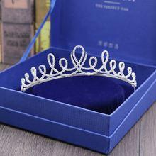 Хит продаж модные тиары короны aaa с фианитами изысканные свадебные