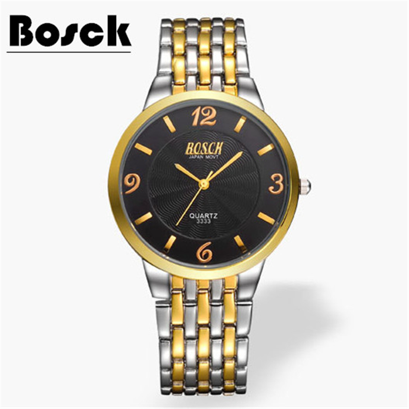 2018 new men's waterproof watch male students Korean version of the simple trend casual fashion steel belt quartz watch men s casual watches men s watch students quartz watch waterproof business watch fashion trend korean version of the watch