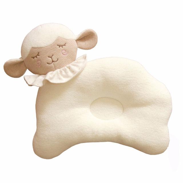 Saco de dormir do bebê recém-nascido travesseiro 2017 bonito dos desenhos animados do bebê elefante travesseiro coussin ondas de viagem travesseiro encosto de cabeça do assento de segurança do bebê macia