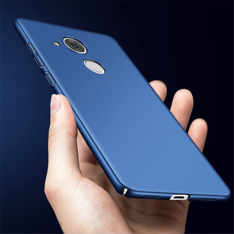 360 Protection Matte Housing For Huawei Honor 6C Pro Case Hard PC Plastic Slim Back Cover Phone Case For Huawei Honor V9 Play