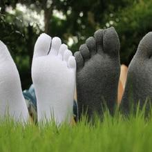 Fashion Frühling Winter Stil Meias Männer frauen Socken Fünf Finger Baumwolle Polyester Atem Toe Socke Elastizität 5 Paare/los