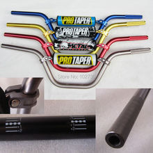 Pro Taper 7/8  » guidon 7075 en alliage d'aluminium longueur 735 mm high rise guidon fit KAYO Apollo Bse dirt bike