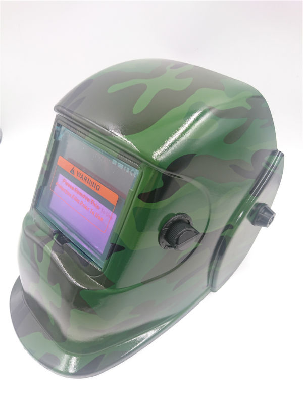 ФОТО FREE SHIPPING Army green Welding tools Auto Darking Solar li battery auto darkening TIG MIG MMA welding helmet