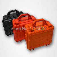 strong plastic box tools shockproof waterproof with foam