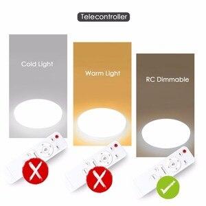 Image 4 - Ultra Thin LED Ceiling Lights Modern Surface Mount Remote Control Lighting Fixture Lamp 110V 220V Living Room Bedroom Kitchen