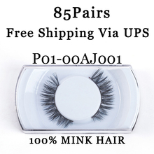 YADERS 85 Pairs Lashes Free Shipping Via UPS False Eyelashes 3D Mink Lashes with Eyelash Makeup Tools Fake Eyelashes AAAAB
