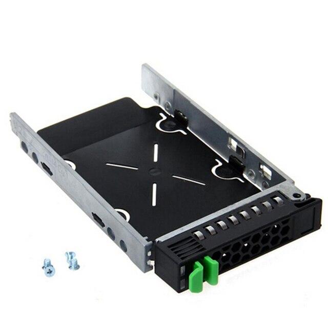 """2016 New 2.5"""" SAS SCSI HDD Hard Drive Tray Bracket Caddy A3C40101974 + 4 Screws For Fujitsu RX300 high quality"""