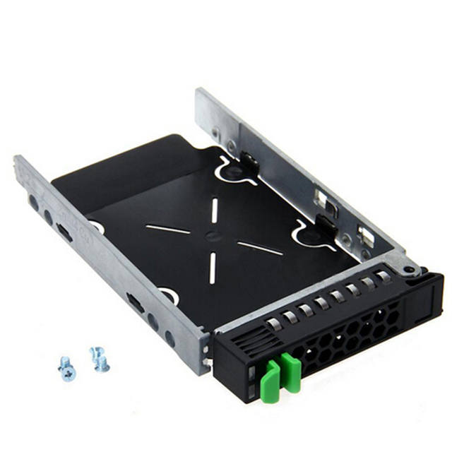 "new 2.5"" SAS SCSI HDD Hard Drive Tray Bracket Caddy A3C40101974 + 4 Screws For Fujitsu RX300"