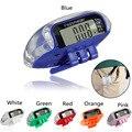 Alta calidad LCD multifunción Podómetros caminar paso contador de calorías cuenta cálculo vigilancia de la salud