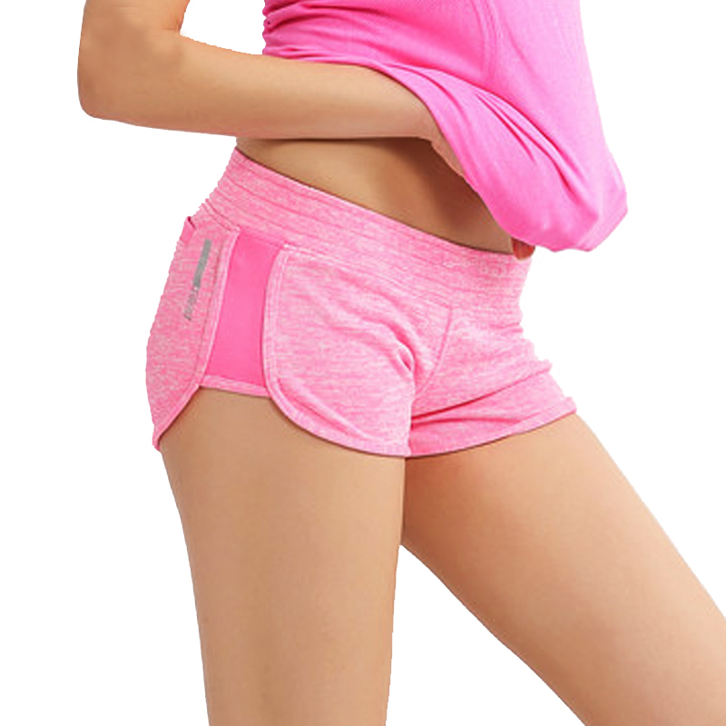 Summer Women Shorts Sporting Low Waist Shorts For Women Fitness Exercise Bodybuilding Qu ...
