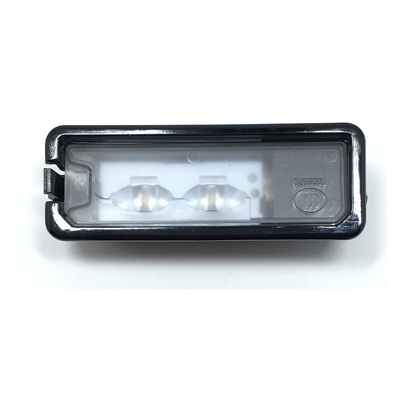 1Pcs LED License Plate Light For VW Golf MK6 MK7 Passat B7 CC Scirocco Beetle Polo 6R  35D 943 021 A for vw passat b7 cc golf mk7 license plate light with plug connector 35d 943 021 a