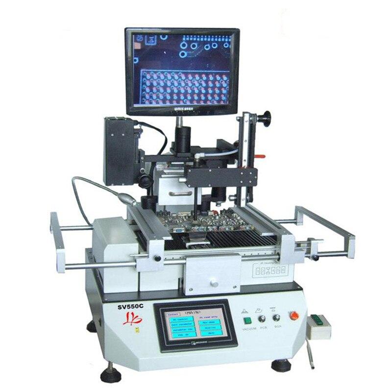 Автоматическая оптическое выравнивание станция LY sv550c паяльная станция для мобильного телефона ремонт максимальное потребление 5300 Вт
