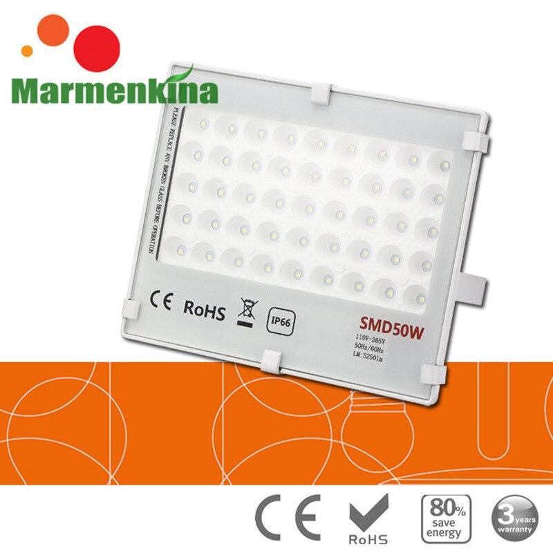 Outdoor lighting led flood light 50W waterproof IP66 LED SMD Garden lamp Spotlight Floodlight AC85-265V