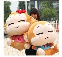 Чучело 90 см yoyo и CICI обезьяна плюшевые игрушки пара Мягкая кукла подушка подарок w2880