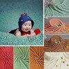 Newborn Photography Props Baby Blanket Fluffy Faux Fur Plush Basket Stuffer Fotografia Backdrop Soft Background Baby