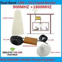 13 м коаксиальный кабель + антенны 2 г UMTS HSPA LTE 4 г GSM репитер сотовый телефон усилитель сигнала 900 1800 celular усилитель сигнала