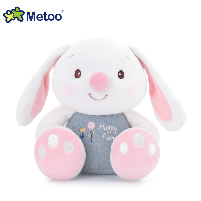 3D Cotton Big Feet Kawaii Plush Stuffed Animal Cartoon Kids Toys for Girls Children Baby Birthday Christmas Gift Metoo Doll kawaii fresh horse plush stuffed animal cartoon kids toys for girls children baby birthday christmas gift unicorn pendant dolls