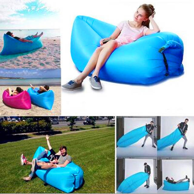 Blow Up Beach Chair Chaise Lounge Online Shop Home Air Furniture Foldable Gas Lazy Sofa Bed Sunshine Placeholder Lay Park