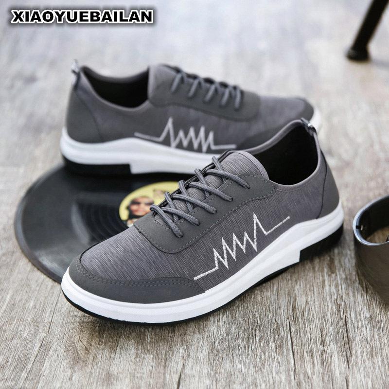 2017, Новая мода для отдыха парусиновая обувь модная обувь Для мужчин ...