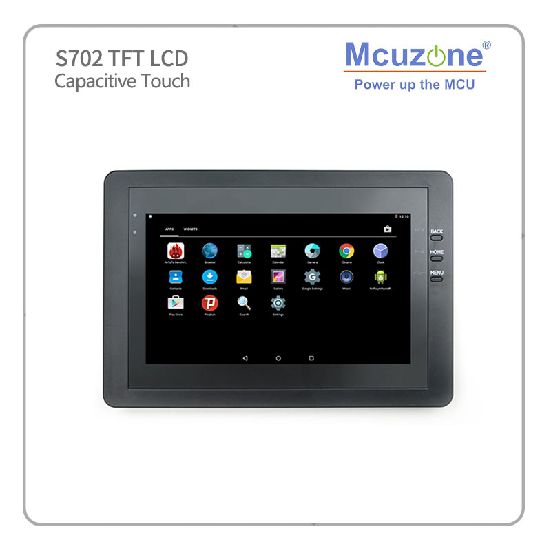 """S702 7"""" TFT LCD 800*480 7 inch Capacitive screen, for Friendlyarm tiny4412 supper4412 tiny210 smart210-in Demo Board Accessories from Computer & Office    2"""