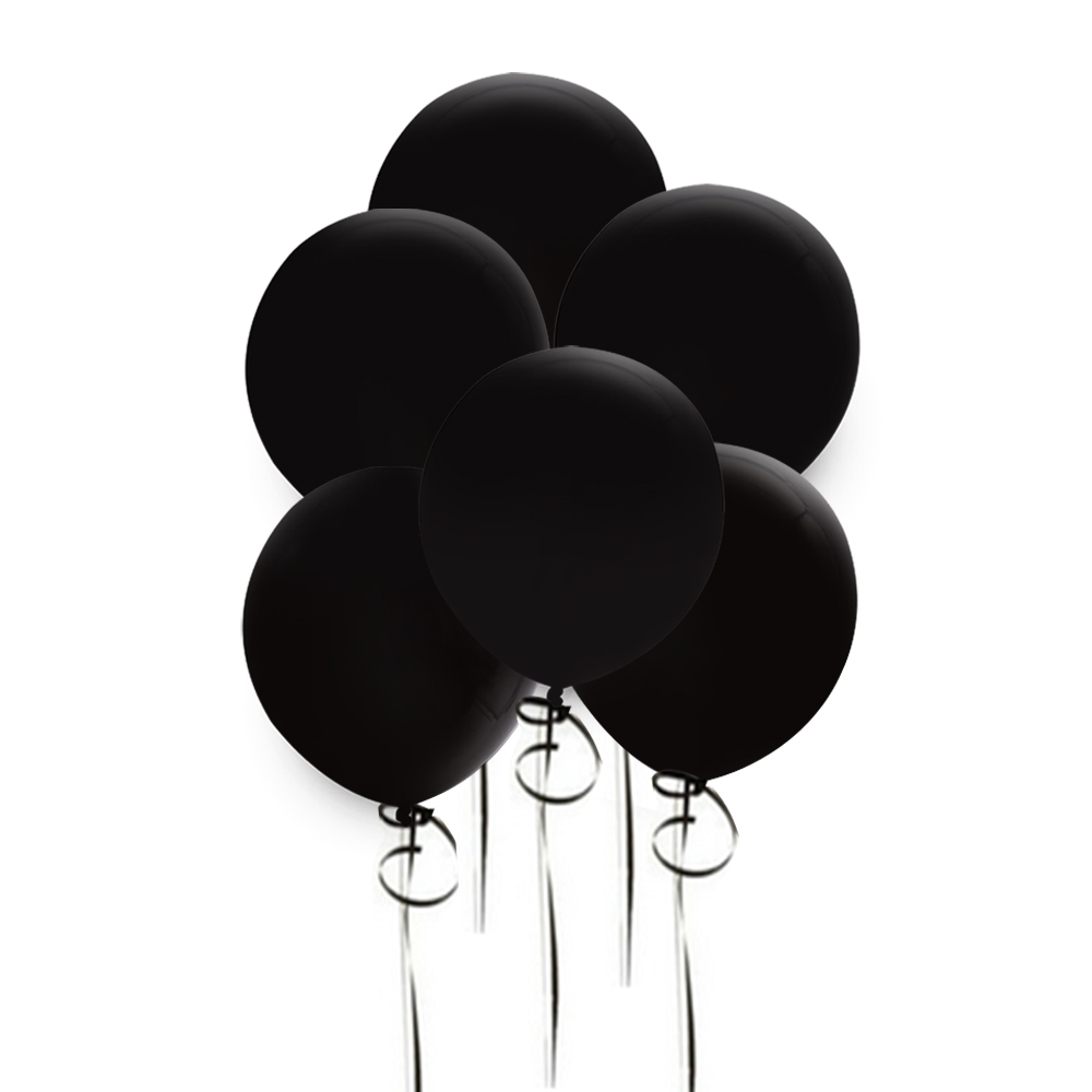 10 шт. 12 дюймов круглый черный, оранжевый латексный шар толщиной 3,2 г свадебные украшения для дома и вечеринки подвесной полый декоративный шар принадлежности