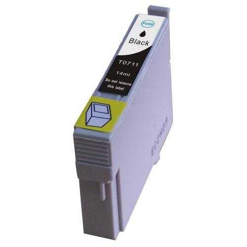 Untuk Epson T0711 KARTRID Tinta Hitam Untuk Epson Stylus SX115 SX210 SX215 SX218 SX400 SX405 SX410 SX415 SX605