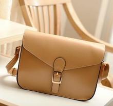 Women Girl Fashion Satchel PU Leather Handbag Messenger Shoulder Bag Tote Purse  BAOK-712e