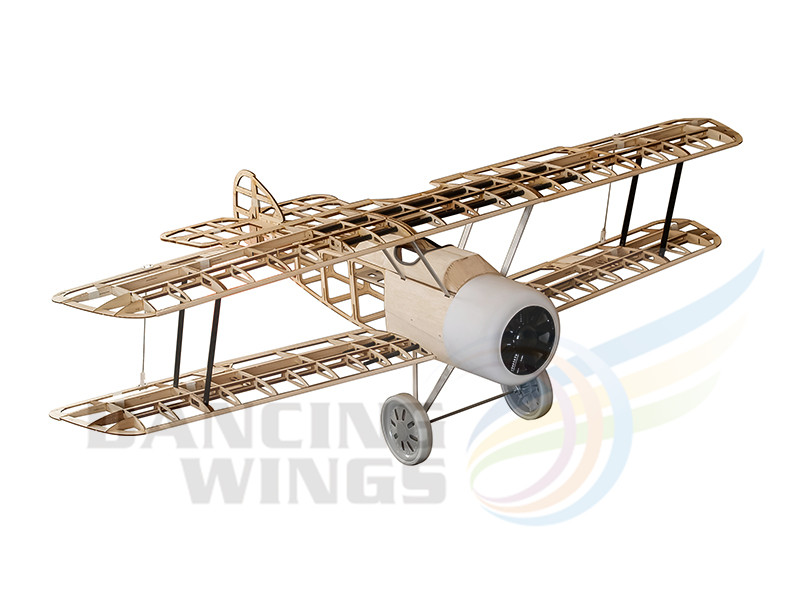 RC Plane Balsa Wood Airplane Model Sopwith Camel 1.5M Laser Cut Model Building Kits Radio Controlled Model Airplanes for Adults