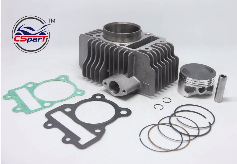 60MM 13MM 75MM Cylinder kit YinXiang ZongShen 150CC 1P60FMJ Engine Kaya Xmotos Apollo Tmax Pit Dirt  Bike Parts
