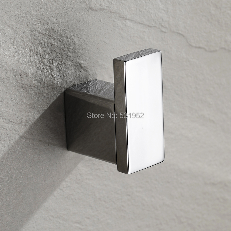 Brass Chrome Square Wall Mounted Single Robe Hook Lavatory Ladder Hanger Back To Search Resultshome Improvement