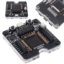 New Electrical Socket Programmer Tool ESP32 Adapter Socket For ESP WROOM 32 Module Micro USB Type B Plug Testing Board