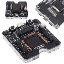 Nova ferramenta elétrica programador soquete adaptador esp32 soquete para ESP WROOM 32 módulo micro usb tipo b plug placa de teste