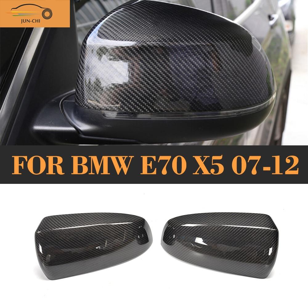 Углеродного волокна заменить Тип боковое зеркало Крышка для BMW Х5 Е70 2007 - 2012 е71 Е72 Х6 2008 - 2014 ( не для М )