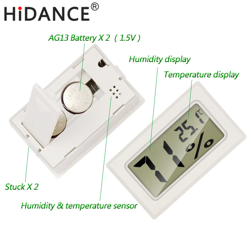 digital thermometer humidity electronic instrumentss