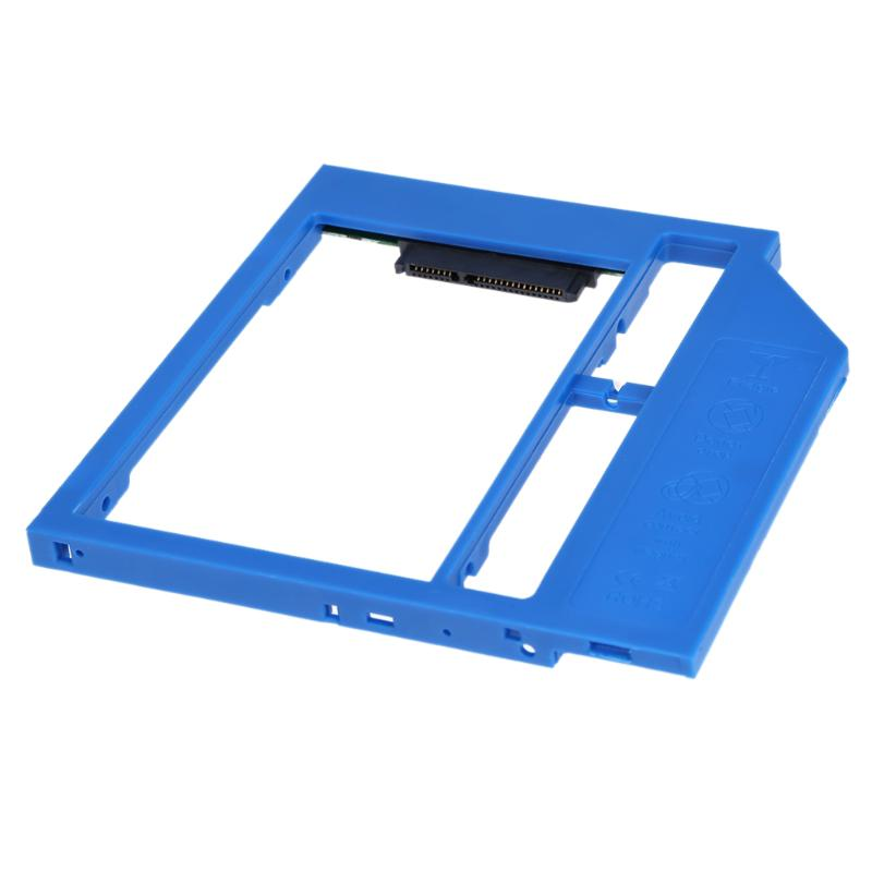 Laptop SATA3 2nd HDD Caddy Universal 9mm CD DVD Optical Bay Hard Drive Adapter To 2.5inch SATA SSD HDD Case new 1tb 2nd hdd optical bay sata3 2 5 second hard disk drive for asus n550jv s550 s551lb s551 s46 k46 a46 x450 notebook case