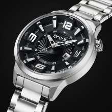 BREAK Men Top Luxury Brand Unique Fashion Casual Calendar Japan Quartz Sports Wristwatches Creative Gift Dress Watches for Men