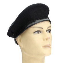 e91fb3f1ed9 Winter Wool Knitted Military Army Men Beret Hat Special Forces Soldiers  Uniform Cap Death Squads Military