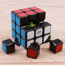qiyi sail warrior 3x3x3 magic speed cube pvc stickers block puzzle cubo magico professional educational stickerless cube toys