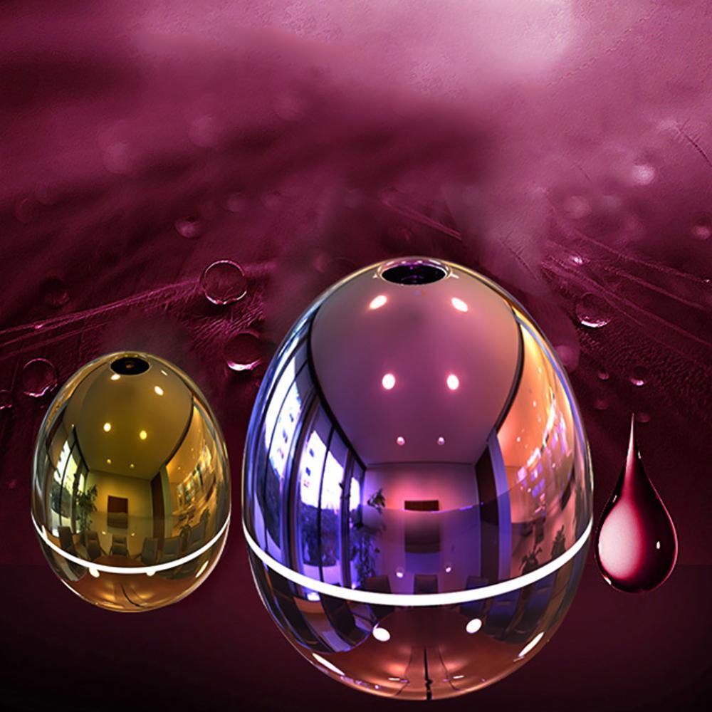 Mini Egg Shape Home Car USB Humidifier Essential Oil Ultrasonic Diffuser  Air Purifier Mist Maker