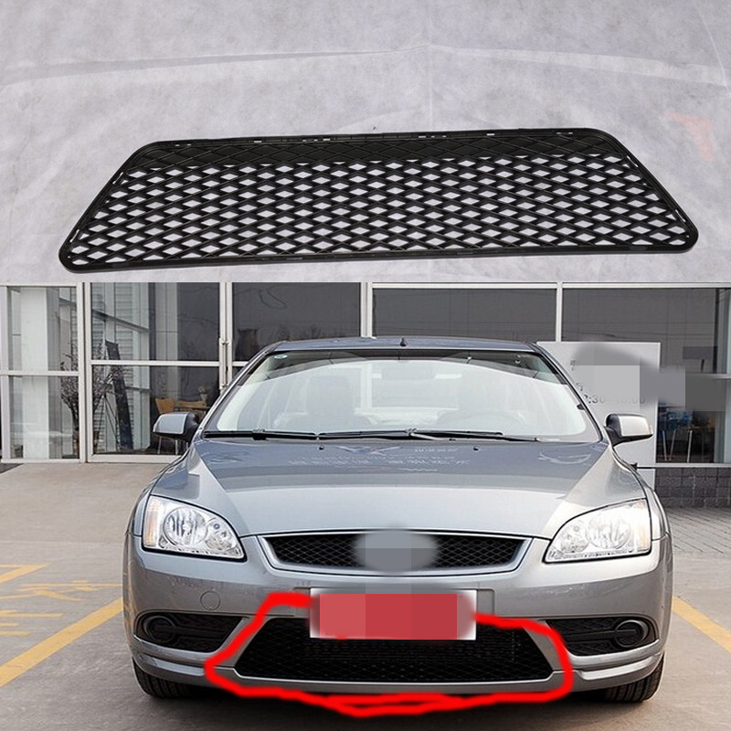 1 PC Front Bumper Lower Grill Mesh Radiator Grille for FORD FOCUS 2007 2008