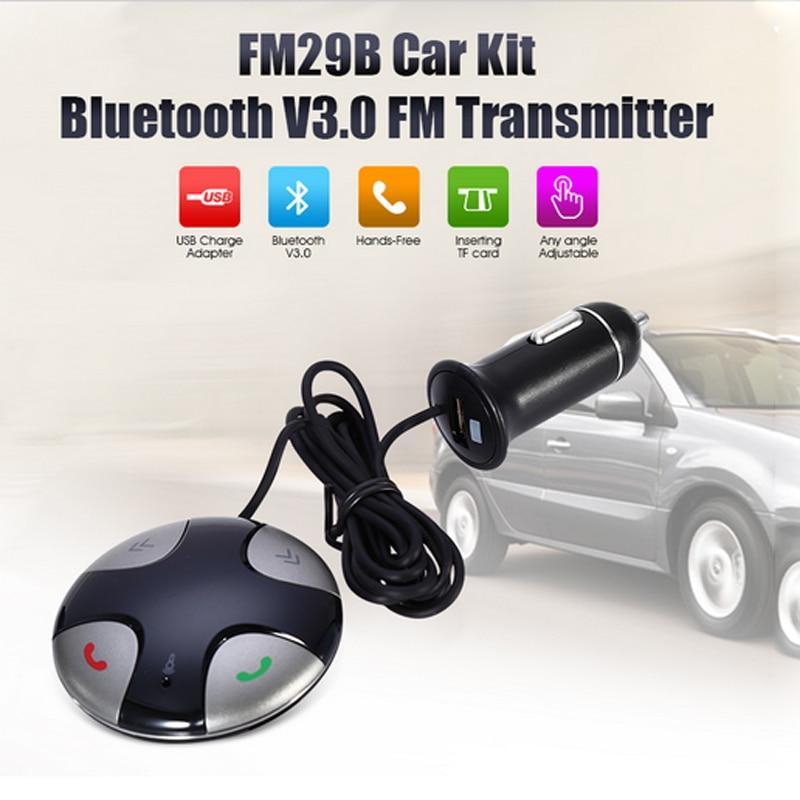 Handsfree Bluetooth carkit FM-zender MP3-speler met magnetische - Auto-elektronica