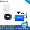 Full Kits CDMA 850MHZ Cell Phone Booster Amplifier GSM Repetidor UMTS 850 Mobile Repeaters 850mhz Repeater with Antenna for home