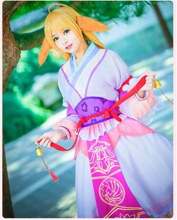 Demon Fox Fairy Tushanyaya Ancientry Dress Uniform Cosplay Costume For Women Free Shipping Home Anime
