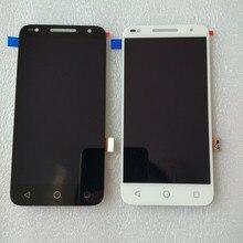 5.0 인치 Alcatel U5 HD 5047i 5047D lcd 디스플레이 + 터치 스크린 디지타이저 어셈블리 교체 Alcatel u5 핸드폰