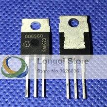 10 PCS IDT06S60C D06S60 TO-220 TO220 segunda geração thinQ SiC Schottky Diodo 6A 600 V