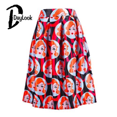 Женская юбка DayLook Midi Saia Faldas